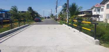 Bridge at Leonora Cottage Hospital entrance