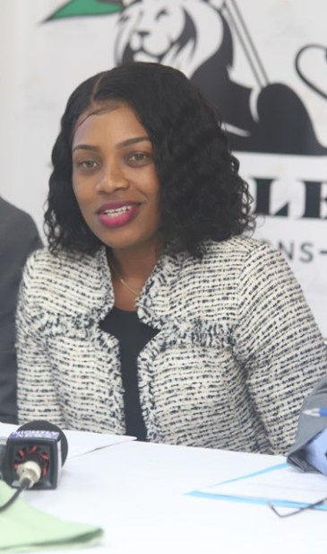 Permanent Secretary attached to the Department of Social Cohesion, Melissa Tucker.