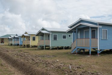 Some of the houses constructed at Prospect