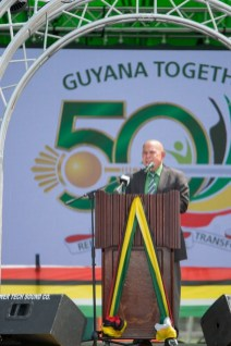 Hon. Dr. George Norton, Minister of Social Cohesion.