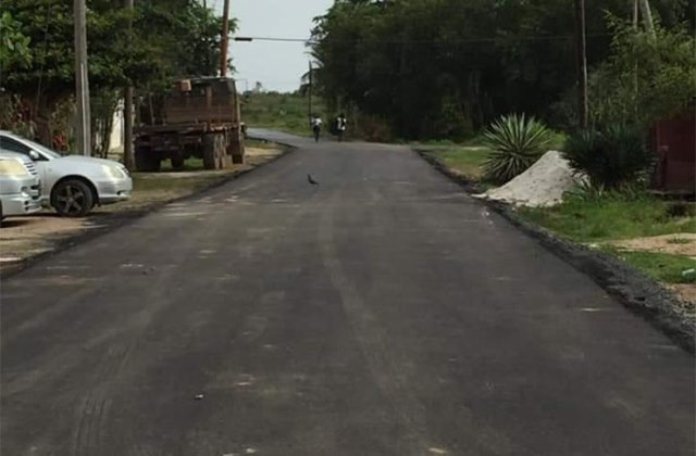 New road in Kara Kara, Linden.