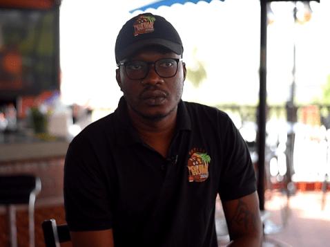 Yonnick David, organiser of rum fest.