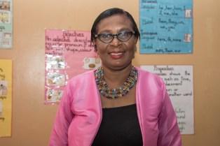 Transition Teacher, Acklima Pearce.