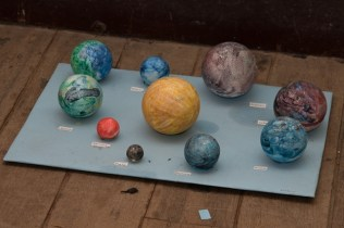 Some of the work done by the students.
