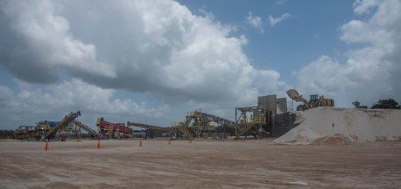 The Bonasika Mine.