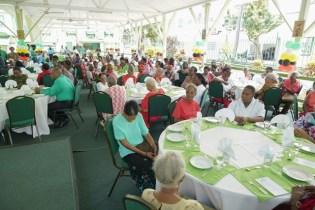 Scenes from the President's Republic Jubilee Luncheon.