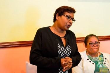 Regional Education Officer, Ms. Bhagmattie Lacruz.
