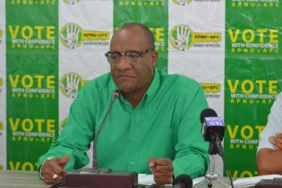 Director-General, Ministry of the Presidency and Co-Chair of the Coalition campaign Joseph Harmon.