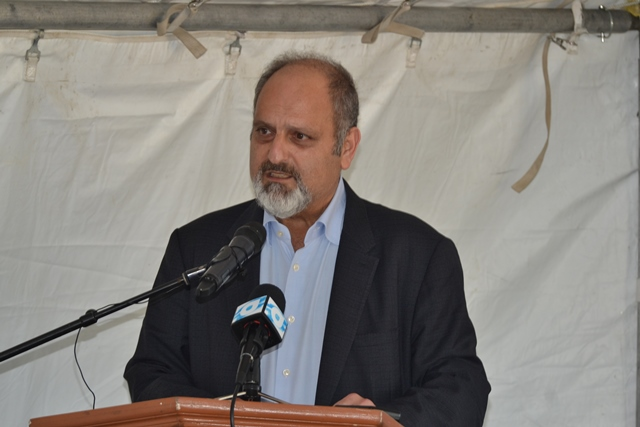 Head of Trinuyana Investments Incorporated of Guyana John Aboud.