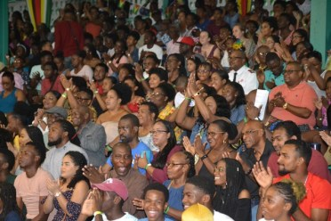A section of the packed audience during PANA-O-RAMA 2020.