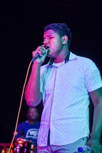 Junior Soca Monarch, Relon Sumner performs at Junior Soca and Calypso rehearsals.