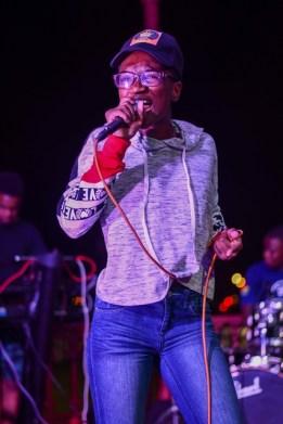 Omaiah Hall performs at Junior Soca and Calypso rehearsals.
