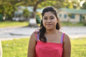 Eighteen-year-old Elyna Abrahams
