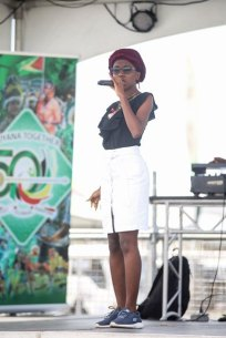 Omaiah Hall, Junior Calypso Monarch.