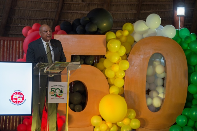 Minister of Natural Resources, Hon. Raphael Trotman.