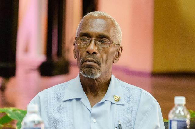 University of Guyana Registrar, Dr. Nigel Gravesande.
