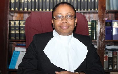 Chief Justice (ag) Roxane George.