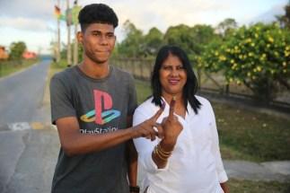 Lisa Ali and her son, Cordel.