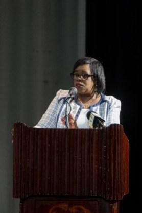 Permanent Secretary Ministry of Public Health, Colette Adams