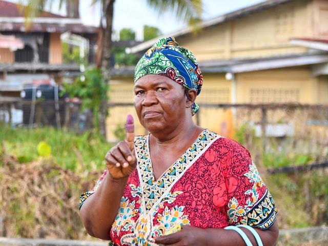 Gwendolene Thomas, Parika Resident.