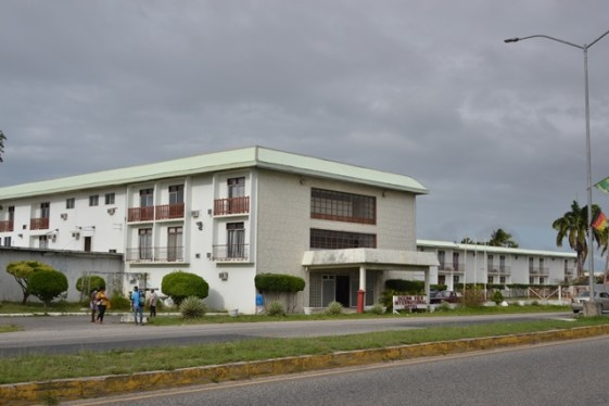 The Ocean View Hotel