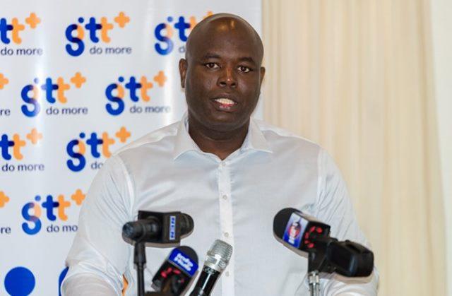 CEO of GTT, Justin Nedd (Guyana Chronicle)