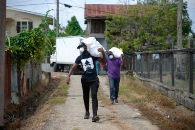 Scenes from the Region Six distribution exercise