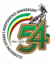 Guyana 54th Independence Logo