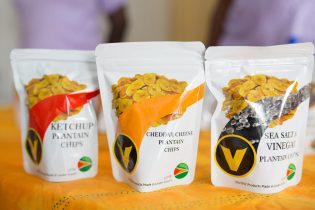 Some of the products manufactured by local agro-processors on display at the 2019 Uncapped Marketplace