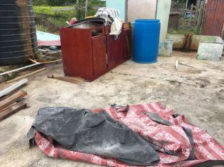 Damaged household appliances