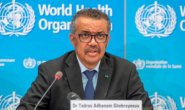 Director-General of WHO, Dr. Tedros Adhanom Ghebreyesus