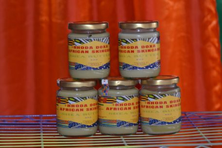 Jars of African Shea Butter