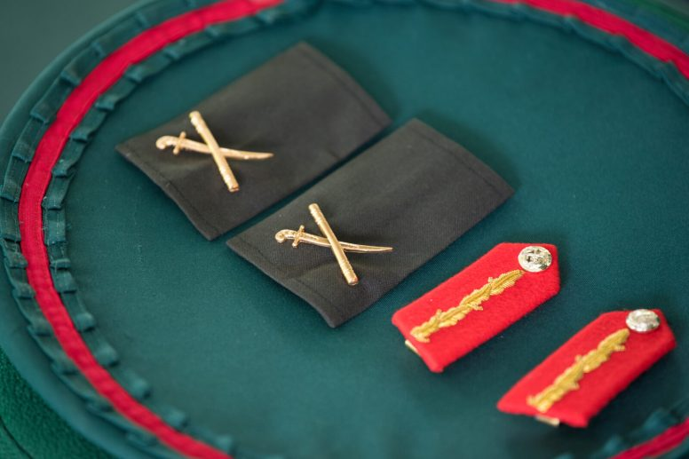 Insignia Rank of Brigadier of the Guyana Defence Force