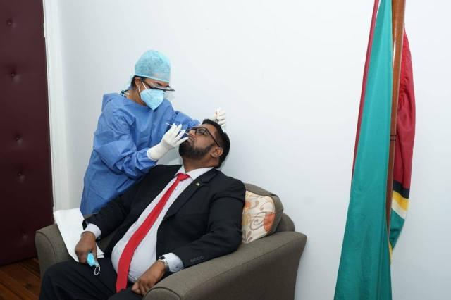 president Guyana testen
