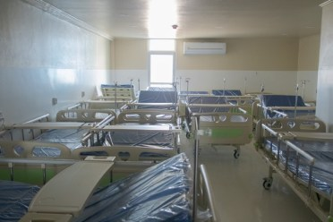 Some of the beds in the Centre for Disease Control and Prevention (Source: MOH)