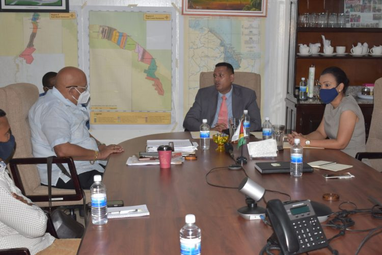 The Ministers engage the Managing Director and Management Team