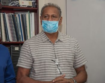 Mr. Harrychand Tulsi, a representative of the National Medical Response team
