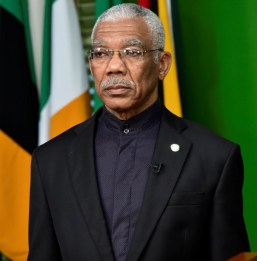 Former President David Granger