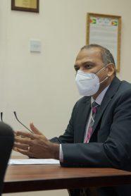Minister Dr Frank Anthony