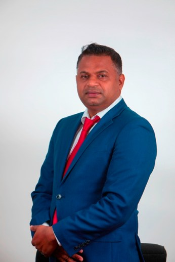 Minister within the Ministry of Public Works, Hon. Deodat Indar