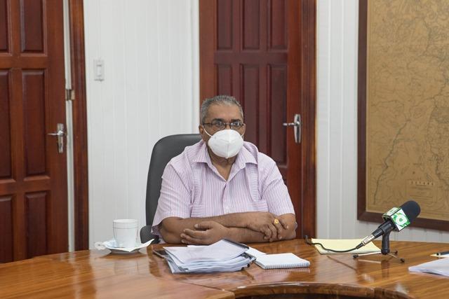 Chairman of NPTAB, Mr. Tarachand Balgobin