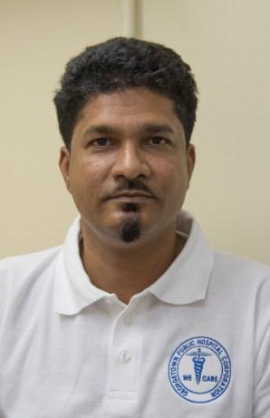 GPHC Head of General Surgery Department, Dr. Navindranauth Rambaran