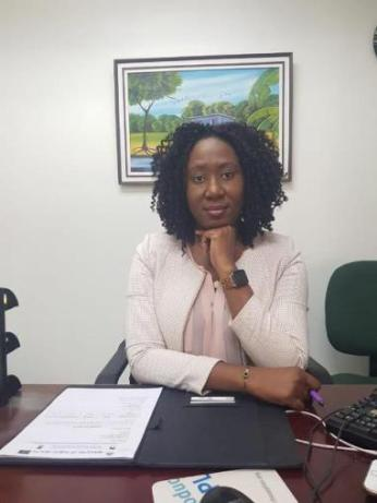 Maternal and Child Health Officer, Dr. Oneka Scott