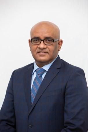 Vice President Hon. Dr. Bharrat Jagdeo
