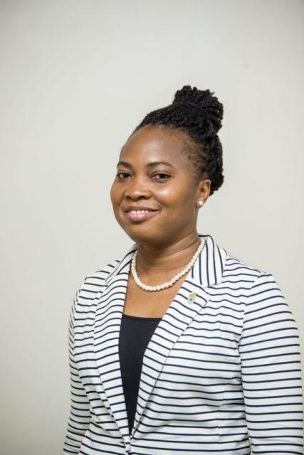 Permanent Sectary, Ministry of Public Service, Ms. Soyinka Grogan
