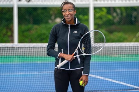 Vice President of the Guyana Tennis Association, Ms. Cristy Campbell
