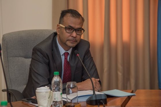 Foreign Secretary Robert Persaud.