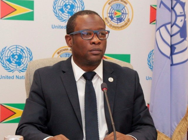 H.E. Mr. Hugh Hilton Todd, Minister for Foreign Affairs and International Cooperation of the Co-operative Republic of Guyana.