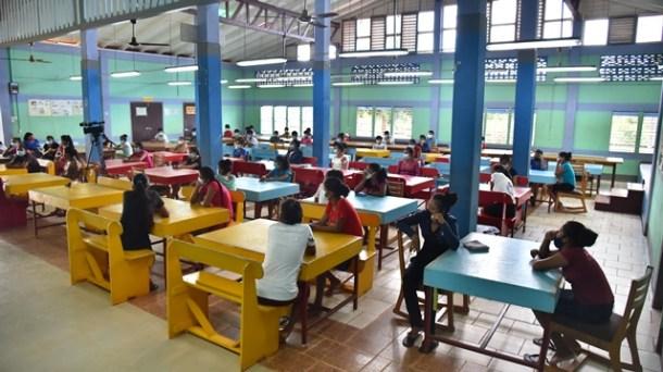 Students at St. Ignatius Secondary School