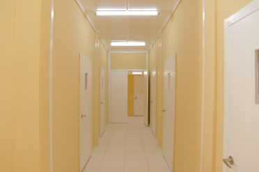 Sections of the newly renovated $12M COVID-19 isolation facility at the Public Hospital Suddie
